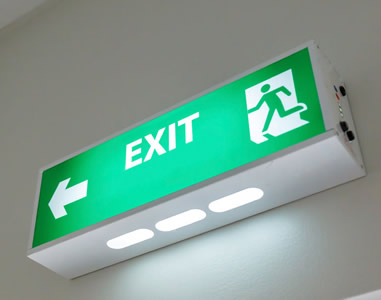 Fire Safety Training Packages-Fire Exit
